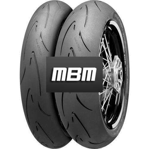 CONTINENTAL ATTACK SM EVO  TL Front  110/70 R17 54 Moto.HB_VR Fro TL Front  H