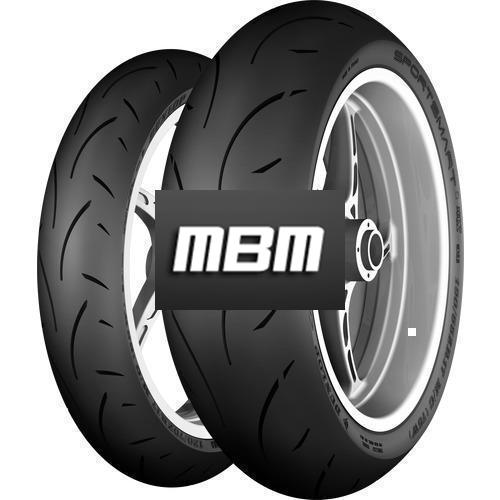DUNLOP SPORTSMART II MAX TL Rear  190/55 R17 75 Moto.ZR-WR RE SP TL Rear  W