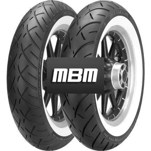 METZELER ME888 ULTRA WW  TL Front  100/90 R19 57 Moto.H/V Dia Fro TL Front BREITE WEISSWAND H