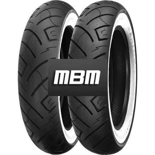 SHINKO SR-777 WW  TL Front  130/90 R16 73 Moto.HB_VR Fro TL Front WEISSWAND - WHITEWALL H